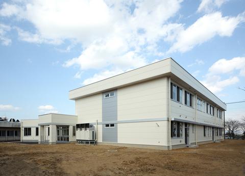 富山県立しらとり支援学校普通教室棟 増築工事画像01
