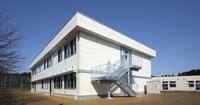 富山県立しらとり支援学校普通教室棟 増築工事の竣工実績