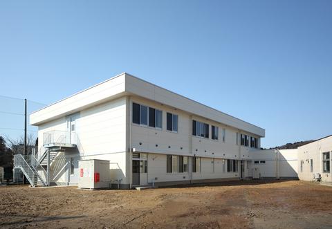 富山県立しらとり支援学校普通教室棟 増築工事画像02