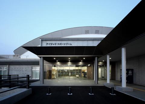 富山市屋内競技場 (アイザックスポーツドーム)画像01